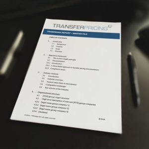 Transfer Pricing Master File