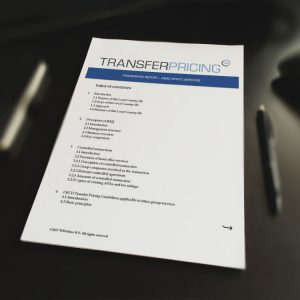 Transfer Pricing Head Office Services